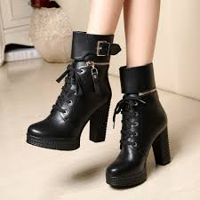 fashion trends luxury black dress ankle boots mixed with dress