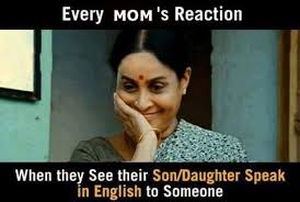 Funny Indian Meme - every moms reaction funny meme funny memes