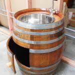 Wine Barrel Vanity Barrel Bathroom Vanity Unique And Antique Bathroom Furniture