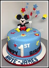 mickey mouse 1st birthday sweetpea designer cakes