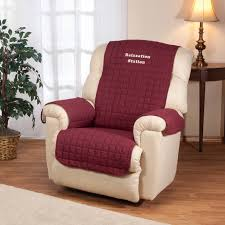 personalized warm color recliner cover by oakridge comforts