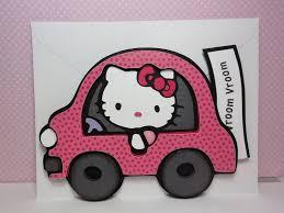 cricut bug kitty car card