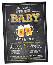 a baby is brewing unique baby shower invitations we