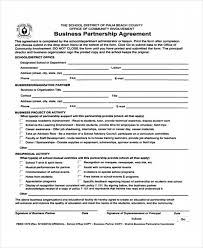 business agreement templates 10 free word pdf format download