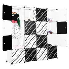 16 cube wardrobe bookcase storage cabinet shelf closet cube