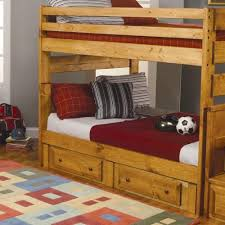Pull Out Bunk Bed Coaster Wrangle Hill Full Over Full Bunk Bed With Pull Out Trundle