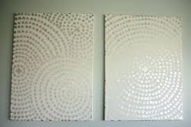 diy canvas art for dining room home decor ideas