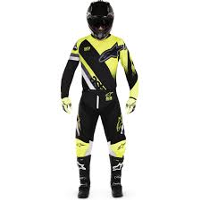 motocross gear combos alpinestars 2018 racer supermatic black fluro gear combo at mxstore