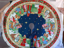 95 best nativity tree skirts images on tree
