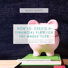 how to create a financial plan for the year november savings