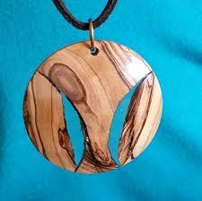 resin wood necklace images Wood resin jewelry resin pendant clear resin jpg