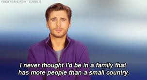 Scott Disick Meme - scott disick family that has more people than a small country gif