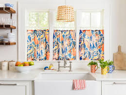 Bright Colorful Kitchen Curtains Inspiration 5 Ways To Style Your Home With Items You Already Hgtv