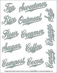 labels for kitchen canisters silhouette store view design 25526 note to self phrase