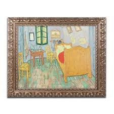 vincent van gogh bedroom trademark art van gogh s bedroom at arles by vincent van gogh
