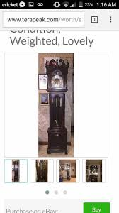 Ethan Allen Grandfather Clock Vintage Ethan Allen Grandfather Clock In Louisville Letgo