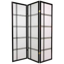 Panel Shoji Screen Room Divider - oriental furniture 48 inch low cherry blossom shoji screen room