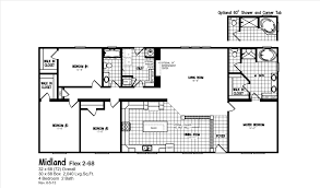 4 bedroom mobile homes 4 bedroom mobile homes 6 home option for