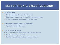 North Carolina Cabinet Chapter 13 North Carolina State Government Congress