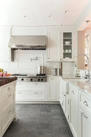 ideas for kitchen floor kitchen floor ideas white cabinets pizzle me
