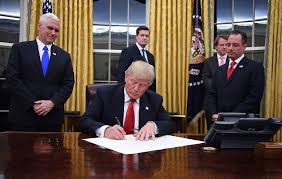 trump in oval office president donald trump has started redecorating the oval office