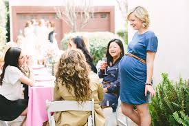 the effortless chic baby girl s la baby shower the effortless chic