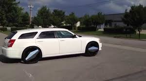 Used 24 Inch Rims 2008 Dodge Magnum 24 Inch Vision Morgana Wheels Youtube