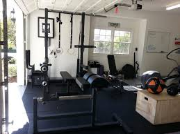 garage home gym plates home gym dumbells backyard garage plans