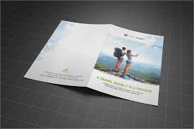 two fold brochure template psd bifold brochure 19 bi fold brochure templates free psd ai eps