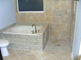 glazed java tan pebble tileshower ceramic tile designs bathroom