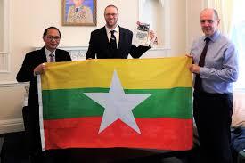 Flag Of Burma Soe In Burma Secretww2net