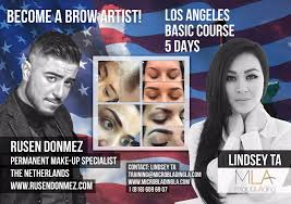 makeup classes ta microblading la post