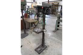 Pedestal Drill Ohio Forge 17 U0027 U0027 16 Speed Pedestal Drill Press Sn 03460