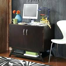 compact office cabinet and hutch compact office compact office cabinet desk espresso awesome home