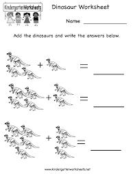 5 best images of free printable preschool worksheets dinosaurs