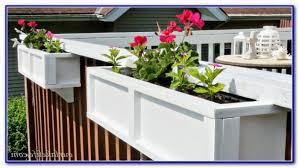 deck rail planter boxes decks home decorating ideas ngjp2zxpzl