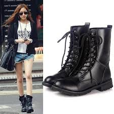 s boots style s martin boots style bandage boot shoes autumn