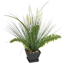 point p00013s 21 lifelike potted artificial fern and