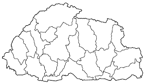 Blank Map Of Belize by Latest Outline Map Of Bhutan