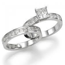 engagement rings sets diamond bridal set fairy tale premier 2 3 carat 0 60ct