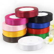 silk satin ribbon 25mm 25 yard pretty silk satin ribbon 22m wedding party decoration