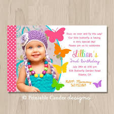 Butterfly Invitations Butterfly Birthday Invitations Template Best Template Collection