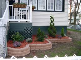 pretty flower garden ideas simple flower bed ideas front of house but looks interesting