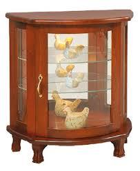 Curio Cabinet Furniture Furniture Short Curio Cabinet