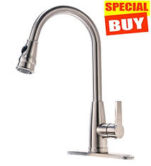 friho commercial brushed nickel stainless steel single handle high