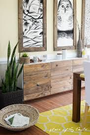sideboard fã r wohnzimmer how to make an ikea cabinet look like a west elm stunner ikea