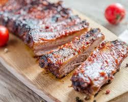 cuisiner porc recette ribs de porc grillés sauce barbecue facile rapide
