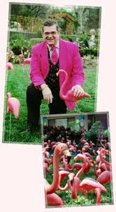pink flamingo day june 23 invention of lawn ornament by don
