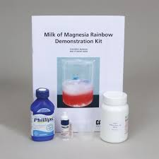 milk of magnesia rainbow demonstration kit carolina com