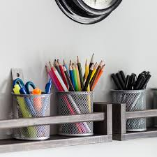 Desk Organizer Ikea by Organized Closet With Ikea Algot And Chalkboard Labels